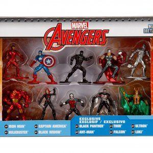 Marvel Avengers Nano Metalfigs Diecast 10 Pack Act
